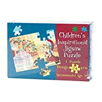Full Armor of God 11 x 8 Cardboard 24 Piece Childrens Puzzle and Devotion 【You&Me】 [並行輸入品]