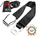 LexAuto Airplane Seat Belt Extender │ Fits all American Airlines except Southwest │Safety Certified Seatbelt Extender for airplane │ Type A universal