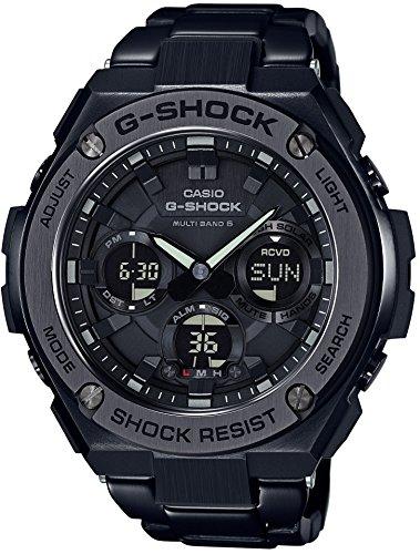 [カシオ] 腕時計 ジーショック G-STEEL 電波ソーラー GST-W110BD-1BJF ブラック
