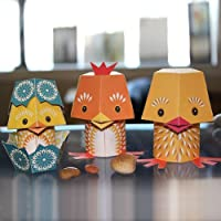 Papertoy Paper Animals - The Yolk Folk