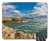 美しい岩の多い海岸線マウスパッド、マウスパッド(オーシャンズマウスパッド)