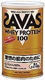明治 ザバス ホエイプロテイン100 香るミルク風味 【18食分】 378g