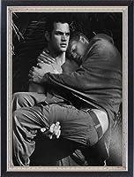ポスター ブルース ウェーバー VISIONAIRE(ヴィジョネアー) 1940年10 額装品 マッキアフレーム-S(ブラックシルバー)