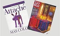 ドールハウスミニチュア1: 12スケールAirline雑誌セット2# tin1069