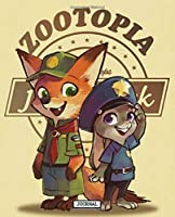 Journal: Animal Cartoon Zootopia City Cute Lovely Couple Rabbit Judy And Red Fox Nick Soft Cover Taking Notes, Workbook Teenage Girls Boys Kids Adults Graph Paper Composition Notebook, Journal, Diary • One Subject • 110 Pages