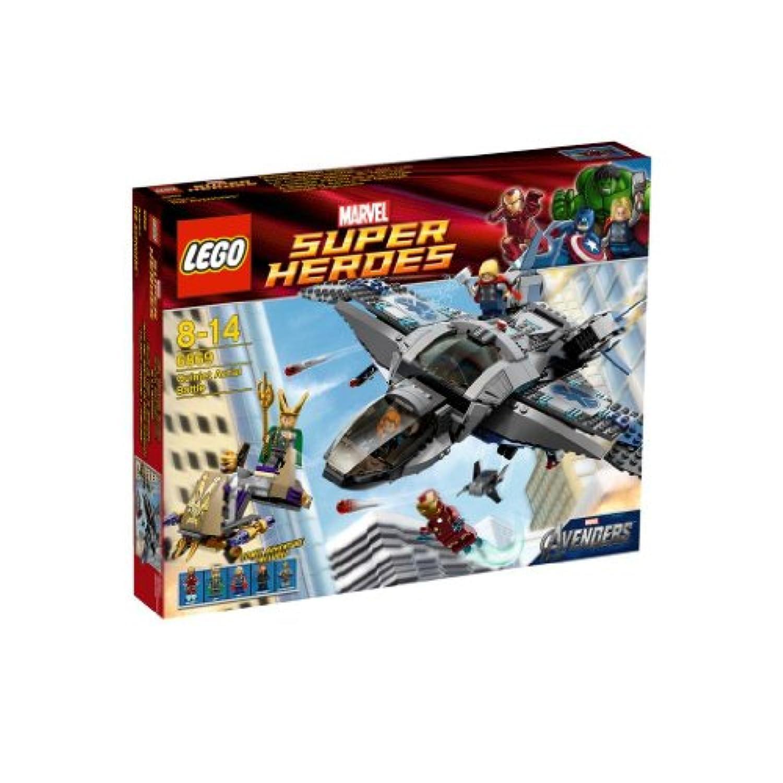 レゴ (LEGO) スーパー?ヒーローズ クインジェットでの空中バトル 6869
