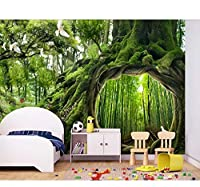 Lcymt フォレスト3D壁紙カスタム壁画不織布壁紙用リビングルームカフェ子供部屋壁紙壁紙3D-250X175Cm