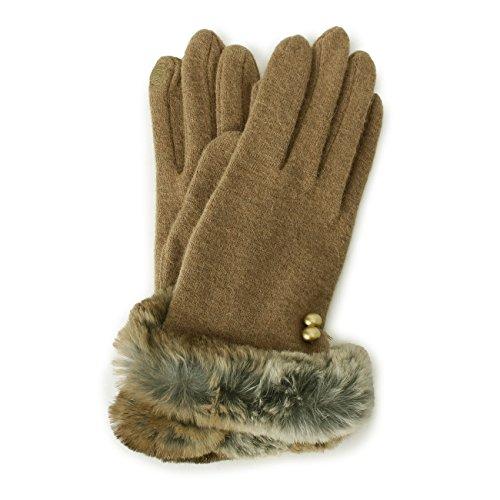 (Soup) SOUP rabbit fur glove 73203703