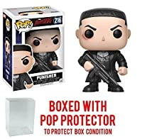 Funko Pop Marvel Daredevil TV Punisher Vinyl Figure (Bundled with Pop BOX PROTECTOR CASE)
