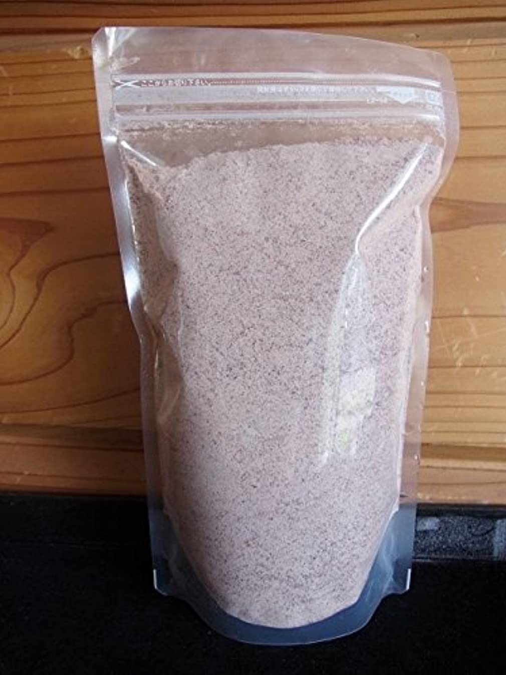限界けん引出席ヒマラヤ岩塩1kg【ブラックソルト】 ミネラルブラッククリスタル パウダー 細粒 バスソルト
