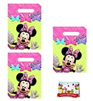 Minnie Mouse Birthday Party Favour Treat Bags Bundle Pack of 24