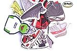 ナイキスニーカー XXIII–エアジョーダンレトロNMD Yeezy Boost Nike Kicks CollectibleランダムパックスニーカーシューズAir Fresheners Auto Car ブラック