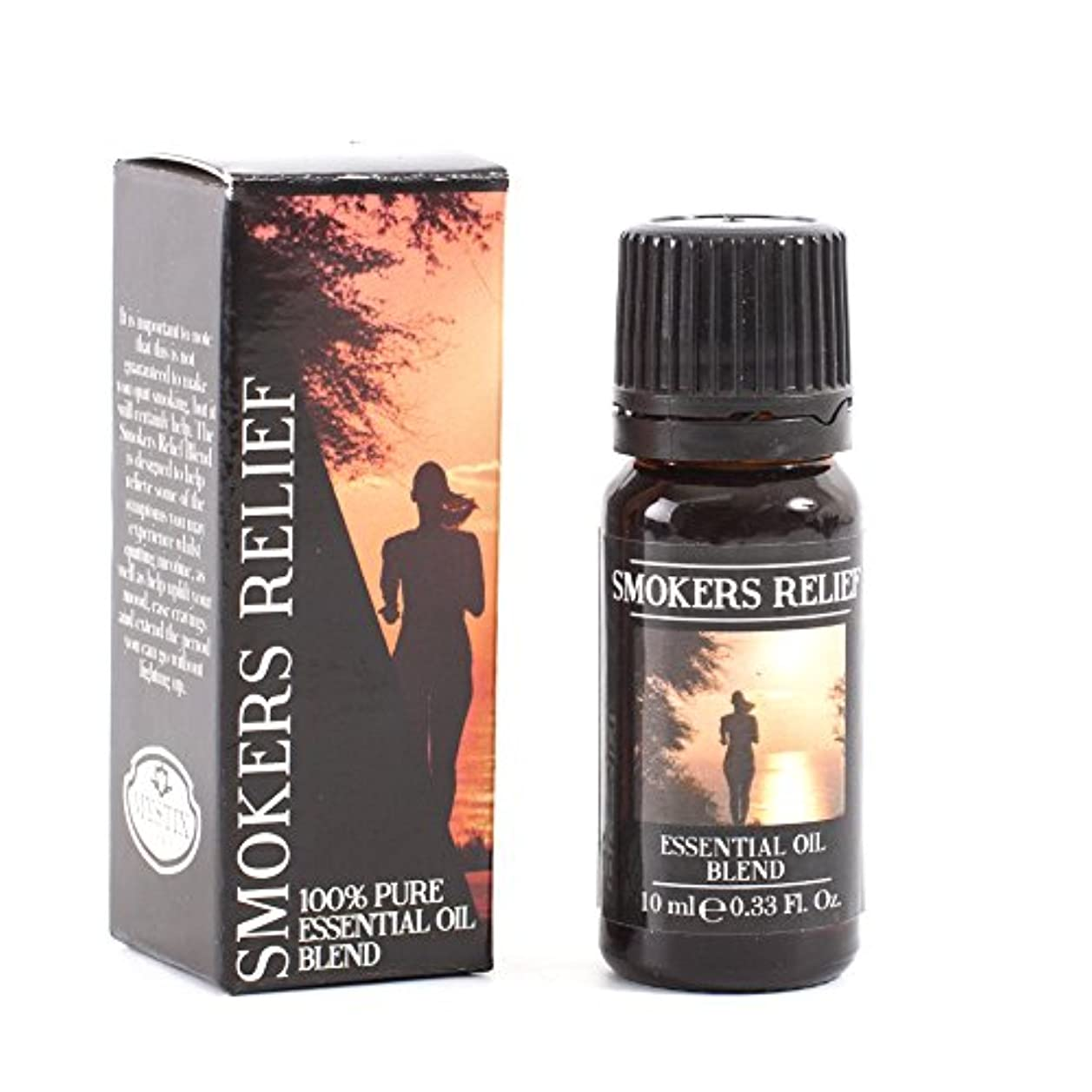 視線賞賛するメモMystix London | Smokers Relief Essential Oil Blend - 10ml - 100% Pure