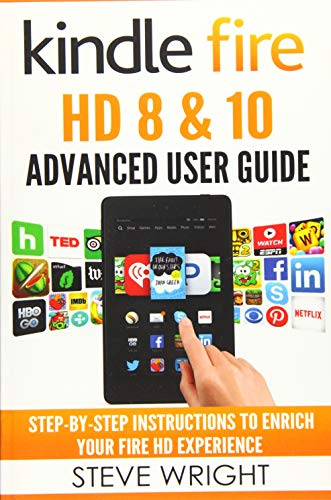 Download Kindle Fire Hd 8 & 10: Kindle Fire Hd Advanced User Guide 1540865215