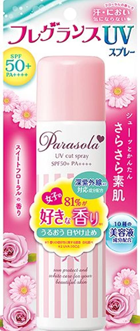 依存出口バルコニーパラソーラ エッセンスイン フレグランス UVスプレー (SPF50+ PA++++) 90g スイートフローラルの香り