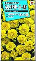 マリーゴールド 種子 ホットパック イエロー (育苗可能本数:およそ20本) 0.5ml フレンチマリーゴールド