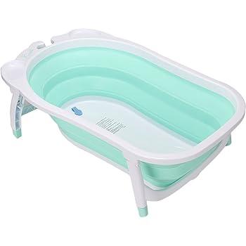 KARIBU [ カリブ ] ベビーバス 折り畳み式 バス 赤ちゃん キッズ お風呂 ターコイズ PM3310 KARIBU Folding Bath [並行輸入品]