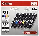 Canon 純正 インク カートリッジ BCI-351XL(BK/C/M/Y/GY) BCI-350XL 6色マルチパック 大容量タイプ BCI-351XL 350XL/6MP