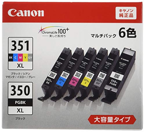 Canon 純正 インク カートリッジ BCI-351XL(...