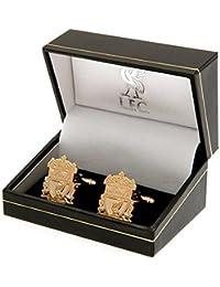 Liverpool FCゴールドメッキカフスボタンOfficial Merchandise