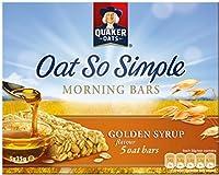 Quaker Oat So Simple Morning Bars Golden Syrup (5x35g) クエーカーオーツ麦そう単純で、朝のバーゴールデンシロップ( 5X35G )