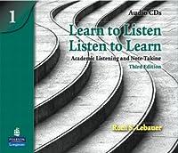 LEARN TO LISTEN LISTEN TO LEARN LEVEL 1 (3E) CD