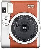 FUJIFILM インスタントカメラ チェキ instax mini 90 ネオクラシック ブラウン INSTAX MI…