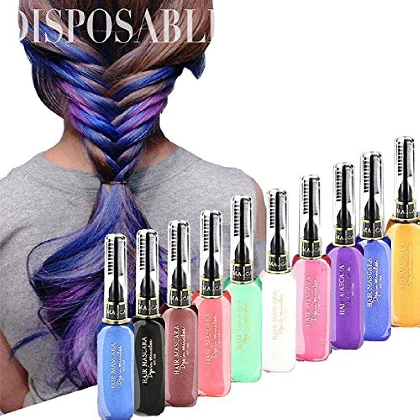 瞑想的繁雑一回13COLORS ヘアワックス ストレート ヘア用 シルバー?アッシュ シャンプーで色付き 整髪料 DIY 15 ml (ローズ)