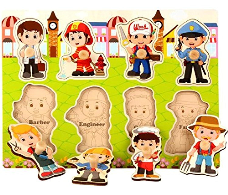 YChoice 知育パズル キッズ 木製ペグパズルボード 教育学習玩具 素晴らしいギフト 子供(ケア)