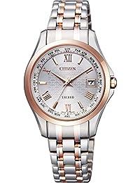 [シチズン]CITIZEN 腕時計 EXCEED エクシード エコ・ドライブ電波時計 ペアモデル EC1124-58A レディース