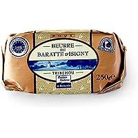イズニーA.O.P. 無塩発酵バター【250g】 Tribehou BEURRE d'ISIGNY DOUX / バターコーヒーにオススメ! (1個)