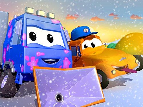 除雪機のサムの上にクリスマスツリーが倒れちゃった! & ロッキーのロケットがサンタを見つけようとしたら!