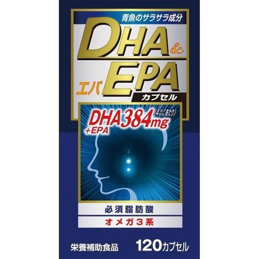 ファイバ風廃止【ウエルネスジャパン】DHAエパ 120カプセル ×5個セット