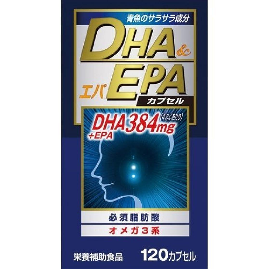 振り向く脈拍悲しい【ウエルネスジャパン】DHAエパ 120カプセル ×10個セット