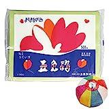 【ペーパーフラワー】五色鶴おはながみ(500枚) うぐいす /お楽しみグッズ(紙風船)付きセット
