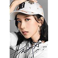 18.5★TWICE★「TWICE × MLB Korea 2018」MINA名井 南ミナ 直筆サイン入り公式宣伝写真 85