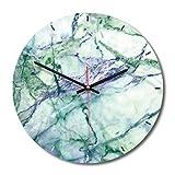 装飾的な柱時計の大理石の北欧の柱時計の創造的な居間の方法家の装飾の時計