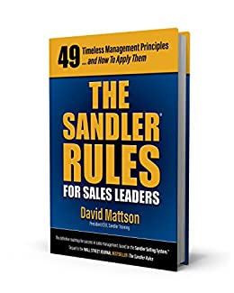 The Sandler Rules For Sales Leaders by [Mattson, David]