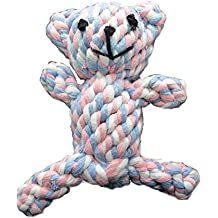 image for product Zenify Puppy Toys Cotton Rope Bear Toy Chew