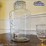 DULTON ダルトン【ビバレッジサーバー エリンL(蛇口付き保存瓶)】