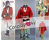 【cosplaysky】DRAMAtical Murder(ドラマティカル マーダー)紅雀(こうじゃく)和服 コスプレ衣装女性L
