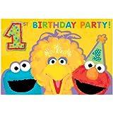 Sesame Street 1st - Invitations セサミストリート第一-招待状?ハロウィン?クリスマス?