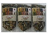 【通宝海苔】 【くまもんシール付】七彩ふりかけ まごわやさしい 3袋 メール便