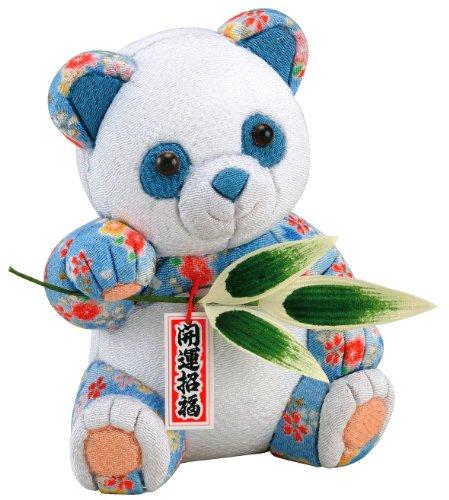 [해외]행운 팬더 木目?み 인형 재료 세트 (수예 재료 · 인형 키트)/Transportation Panda Wood grain doll material set (handicraft material   puppet kit)