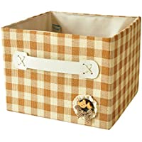 カバーされていない引き出しデッドボックス折りたたみ可能な雑貨オーガナイザボックス収納バスケット N