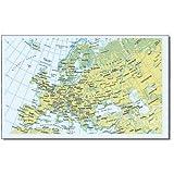 ヨーロッパ/世界地図