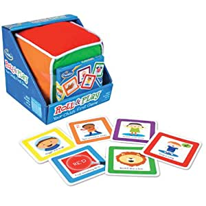 Think Fun Roll Roll and Play Pre School Game
