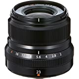 Fujifilm XF 23mm F/2 R Weather Resistant Lens, Black