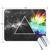 ミニサイズ パソコン ゲーミング マウスパッド 防水 Pink Floyd デスクマット パッドト滑り止めゴム底 耐久性が良い キーボード 学校 オフィス用