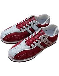 Dexter ボウリング シューズ Ds38 ワイン?ホワイト デクスター ボウリング用品 靴 ボーリング グッズ